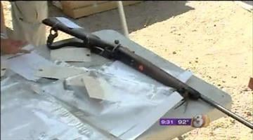 Agents with the Bureau of Alcohol, Tobacco and Firearms discovered a large cache of weapons after serving a search warrant at a Mesa home early Monday morning. By Catherine Holland