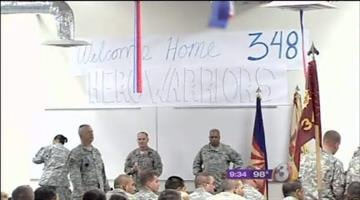 After a year-long deployment in Afghanistan, 165 Army Reserve soldiers are back home in the Valley. By Catherine Holland