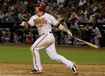 Arizona Diamondbacks' Mark Reynolds watches his 3-run home run against the New York Mets during the sixth inning of a baseball game, Monday, July 19, 2010, in Phoenix. (AP Photo/Ross D. Franklin) By Ross D. Franklin