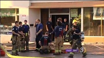 Investigators are trying to determine what sparked an early morning fire at a furniture store in a Central Phoenix strip mall. By Catherine Holland