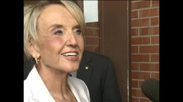 Gov. Jan Brewer responds to the temporary injunction of portions SB 1070. By Fox 11 News