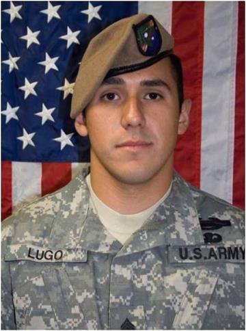 Sgt. Martin Lugo, Jr., of Tucson, died in Afghanistan on Thursday from wounds suffered in a fire fight with the Taliban. By Bob Richardson