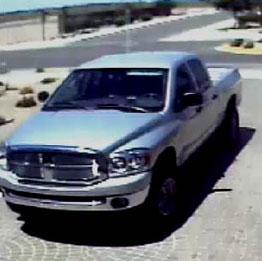 Suspect's vehicle By Jennifer Thomas