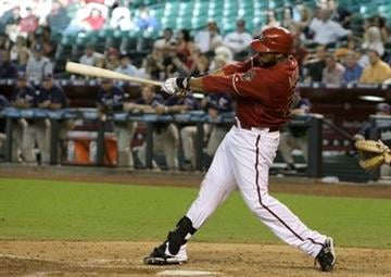 Arizona Diamondbacks' Brandon Allen connects for a grand slam against the San Diego Padres during the seventh inning of a baseball game Wednesday, Sept. 1, 2010, in Phoenix. (AP Photo/Ross D. Franklin) By Ross D. Franklin