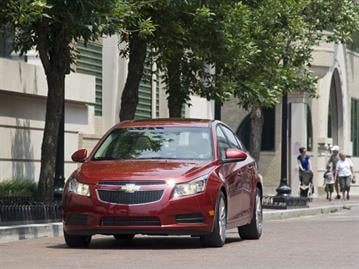 The 2011 Chevrolet Cruze in the Dupont Circle and Georgetown areas of Washington, D.C., Tuesday, June 22, 2010. (Photo by Steve Fecht for Chevrolet) X11CH_CZ131 By GM
