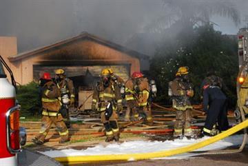 House fire near 37th Street and Thunderbird Road By Jennifer Thomas