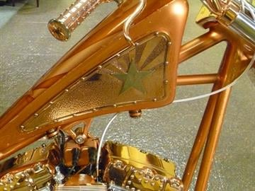 Arizona will celebrate its 100th anniversary in 2012, and as part of the centennial event, world-renowned custom motorcycle builder (and Arizona resident) Paul Yaffe designed and built the Arizona Centennial Copper Chopper. By Catherine Holland