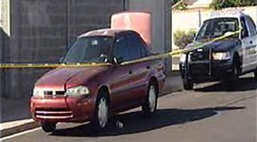 The suspect was taken into custody near Alma School and Baseline roads. By Jennifer Thomas