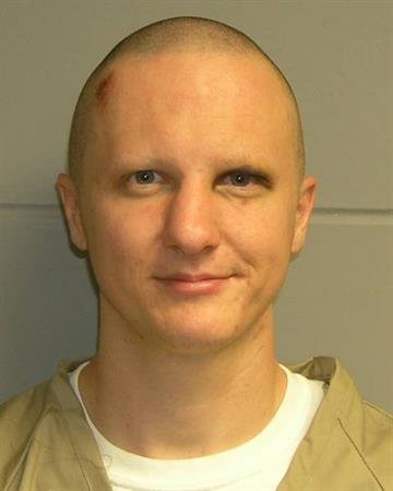 Mug shot of Tucson shooting suspect Jared Loughner.  Taken at the time of his arrest.  Released February 22, 2011. By Bryce Potter