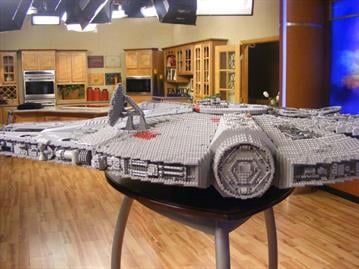 Star Wars Miniland opens at Legoland California next month, and we got a sneak peek at some of the 2,000 models, including a life-size Chewbaca and R2D2. By Catherine Holland