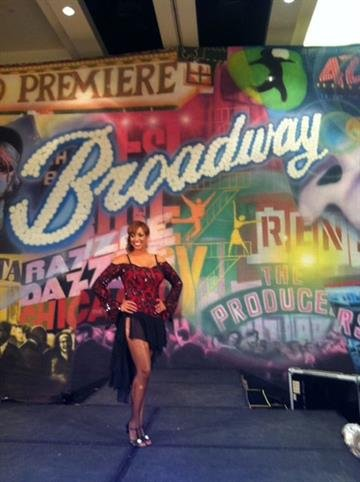 Brittney Shipp brought the lightning to the dance floor. By Catherine Holland