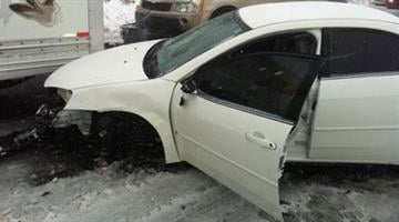 There were reports of a 20-car pileup in the Flagstaff area. By Jennifer Thomas