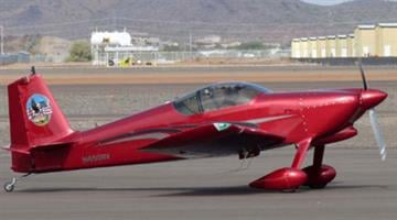 Joseph Radford's cherry red RV-6 Home-built Kit Aircraft with tail number N650RV was reported missing. By Jennifer Thomas