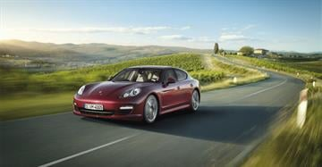 """You've heard the phrase, """"Porsche. There is no substitute."""" Scott Pasmore got a first-hand look at the Panamera, Porsche's four-door luxury sedan Monday morning, and he says that catchphrase is dead on. By Catherine Holland"""