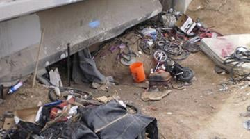 Police found trash and stolen property at the transient camp. By Jennifer Thomas