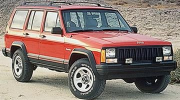 The suspect vehicle is similar to this Jeep. By Jennifer Thomas