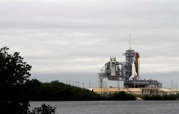 The space shuttle Endeavour sits on Launch Pad 39-A during fueling at Kennedy Space Center in Cape Canaveral, Fla., Friday, April 29, 2011. (AP Photo/Chris O'Meara) By Chris O'Meara