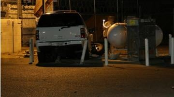 Victim's vehicle By Alicia Barron