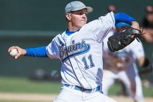 UCLA pitcher Trevor Bauer is a student of the technical aspects of pitching. By Catherine Holland