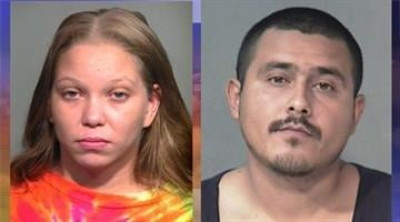 Summer Dawn Angelly, 23, and Jasen Anchondo, 28, were each charged with one felony count of child abuse. By Catherine Holland