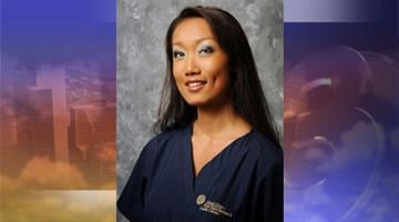 This August 2008 photo released by Horizon Eye Specialists & Lasik Center shows Rebecca Zahau. She was found dead hanging nude from the second-floor balcony of a historic mansion, her wrists and ankles bound. By Jennifer Thomas