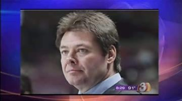 The team's coach is Canadian Brad McCrimmon, who took over in May. He was most recently an assistant coach with the Detroit Red Wings, and played 18 years in the NHL for Boston, Philadelphia, Detroit, Hartford and Phoenix. By Catherine Holland