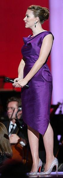Nobel Peace prize Concert 2008, Oslo Spektrum, Scarlett Johansson By Belo Content KTVK