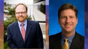 Wes Gullett (R) and Greg Stanton (D) By Catherine Holland
