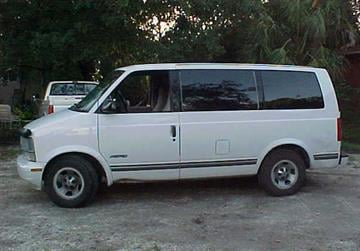 The suspect fled in a van similar to this one. By Jennifer Thomas