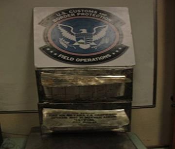 CBP officers seize ammunition at San Luis Port of Entry By Jennifer Thomas