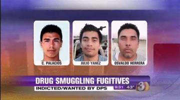 Left to right, Christian Palacios, Julio Cesar Alavarado Yanez and Osvaldo Moreno Herrera By Jennifer Thomas