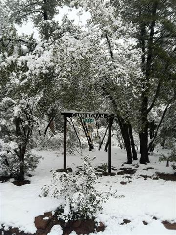 Snow in Strawberry, Ariz., Dec. 14 By Jennifer Thomas