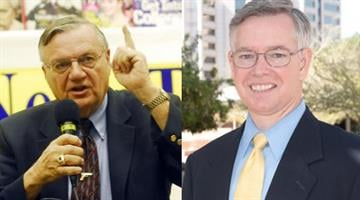 Sheriff Joe Arpaio and County Attorney Bill Montgomery By Catherine Holland
