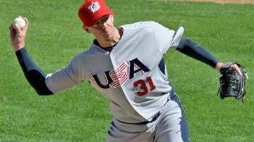 Brad Ziegler has had a wild ride to the major leagues and Team USA. (File photo) By Catherine Holland