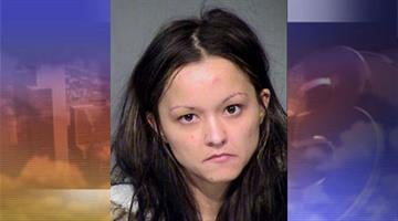 Brittnay Beinhauer, 27, of Tempe. Booked on two counts of theft. By Jennifer Thomas