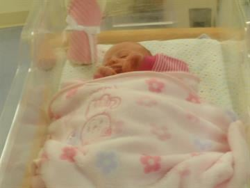 """Baby Kathleen"" was found abandoned in the front yard of a home in North Phoenix. By Jennifer Thomas"