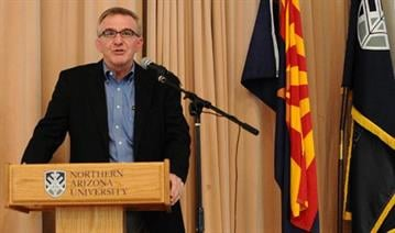 Jim Fallis has been Northern Arizona's athletic director for eight years. By Catherine Holland