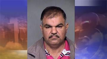 Mohammed Altameemi, 45, was arrested by Phoenix police for allegedly assaulting his adult daughter. By Mike Gertzman
