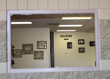 Vandals broke into Maricopa High School. By Jennifer Thomas
