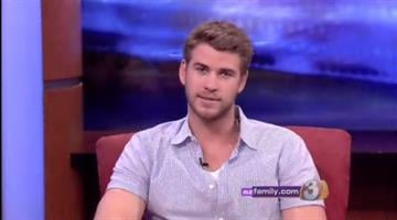 """The Hunger Games"" star Liam Hemsworth By Jennifer Thomas"