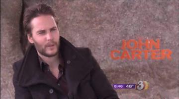 "Taylor Kitsch stars in ""John Carter."" By Jennifer Thomas"