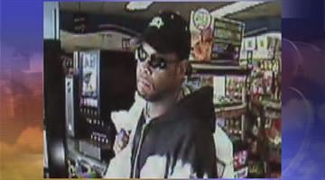 Surveillance photo of suspect in cigarette theft By Jennifer Thomas