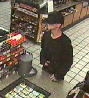 Surveillance photo from a March 21 armed robbery at a Chandler Circle K By Jennifer Thomas