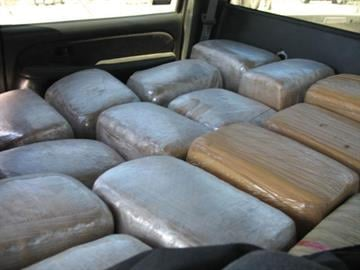 DPS officers seized 1,161 pounds of marijuana following a traffic stop near Safford. By Jennifer Thomas