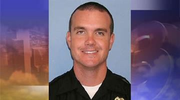 Officer Brent Durham was one of four Glendale police officers who fired at an assault suspect. By Jennifer Thomas