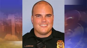 Officer Lonnie Durham was one of four Glendale police officers who fired at an assault suspect. By Jennifer Thomas