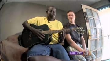 Jackson Nyago and Nick Cuprisin are thankful for the Phoenix Dream Center. By Jennifer Thomas