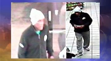 Surveillance photos of suspect who robbed the Chevron station at 32nd Street and Thomas Road on April 9. By Jennifer Thomas