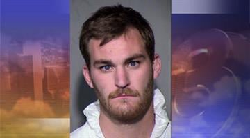 DPS says Mark William Clary, 24, was drunk behind the wheel of a Corvette when he caused a fatal crash and ran from the scene By Mike Gertzman