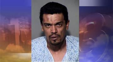 Christopher Robles, 43, is charged with aggravated assault on a police officer, and resisting arrest By Mike Gertzman